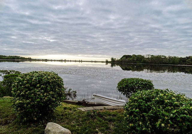 beautiful niles pond morning