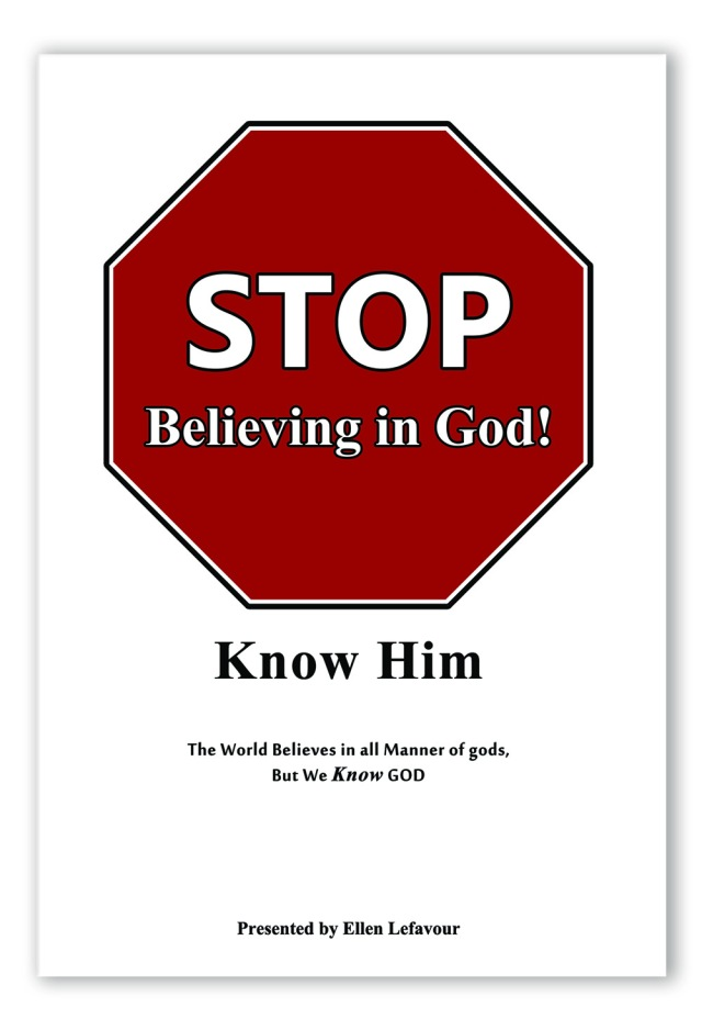 Stop Believing in God